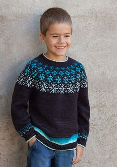 Ravelry: Little Bit Frosted pattern by Lisa K. Fair Isle Knitting Patterns, Knitting Charts, Knit Patterns, Knitting For Kids, Baby Knitting, Knit Leg Warmers, Christmas Knitting, Beautiful Crochet, Crochet Clothes