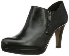 separation shoes 12220 58d9e Clarks Amos Kendra, Damen Pumps, Schwarz (Black Leather), 41 EU