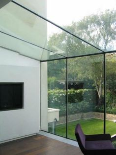 frameless glass room - Google Search