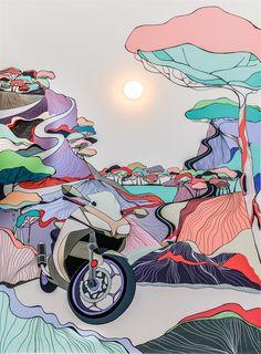 Into the wild | Pictura Murala