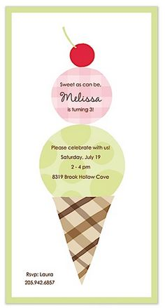 Cherry on Top Party Invitation | Paper & Pearl