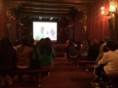The theatre at Hearst Castle, california