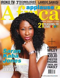 Saran K. Jones Founder of Face Africa