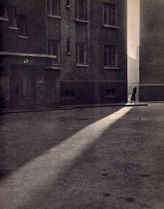 Paris Street. 1930s. by Gilbert de Chambertrand