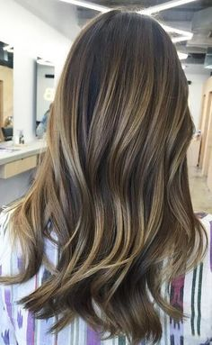Hair Color Ideas 2018   brunette balayage blend Discovred by   Mane  Interest. Ana Gabriel · Hairspiration ef59b34f7b4