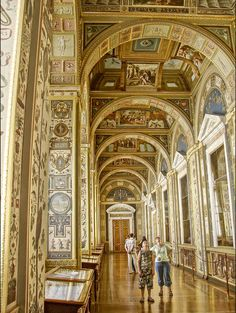 """One of the World's Best Museums: St. Petersburg's Hermitage Museum. Experience it like never before with Viking's program """"The Hermitage Behind Closed Doors,"""" which grants guests privileged access tours."""