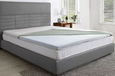 Trafalgar Gel Infused Memory Foam Mattress Topper with Bamboo Cover (King) Furniture Styles, New Furniture, Online Furniture, Dorm Room Bedding, Best Mattress, Mattress Box, Memory Foam Mattress Topper, Mattress Protector, Bamboo