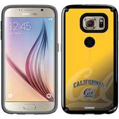 UC Berkeley Cal Watermark Yellow Design on Samsung Galaxy S6 CandyShell Case by Speck