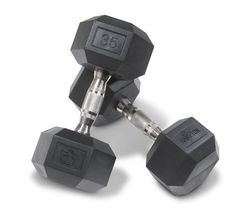 Hampton 175 lb DuraBell Urethane Coated ProHex Dumbbell Pair * Check this awesome product by going to the link at the image.