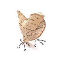 More newspaper crafts