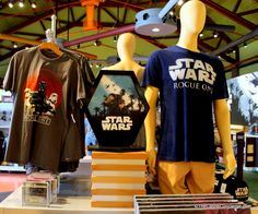 Star Wars merchandise for Rogue One at Disney Springs.