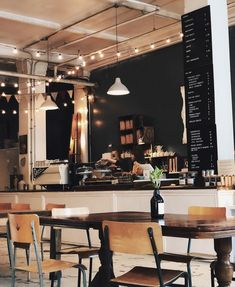 13 Most Aesthetic Cafés And Coffee Shops In Vancouver - Starbucks, nicht nur Kaffee, ®™ - Coffee Plywood Furniture, Design Furniture, Cozy Coffee Shop, Coffee Shop Design, Design Café, Design Studio, Korean Coffee Shop, Coffee Shop Aesthetic, Aesthetic Shop