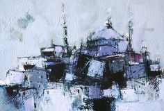 Turkey - Paintings of istanbul,