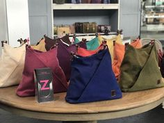 Array of colours - summer purses