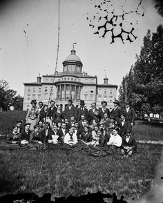 University of Wisconsin Class | Photograph | Wisconsin Historical Society