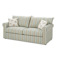 Full-size sleeper sofa instead of a queen, so that I don't have to buy different sized bed sheets. It'll also work better with my room sizes -- the wall it will be on is only 10 feet long, so an 8-foot-long sofa would overpower it.