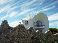 Conch shell house.