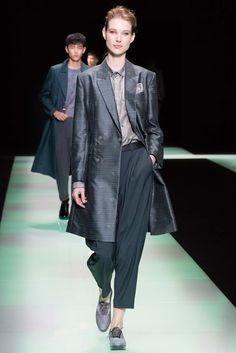 Emporio Armani Spring 2016 Menswear Fashion Show
