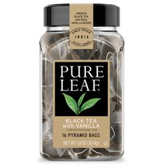 Black Tea with Vanilla | Tea Bags | Pure Leaf received free from @influenster and @pureleaf