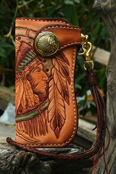Leather Carving, Leather Art, Custom Leather, Leather Design, Leather Tooling, Leather Jewelry, Leather And Lace, Leather Belts, Leather Wallets