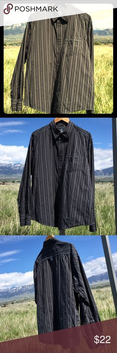 😎 MENS KUHL XL NYLON IONIK BUTTON DOWN EXC COND 😎 MENS KUHL XL NYLON IONIK BUTTON DOWN EXC COND NO RIPS STAINS HOLES TEARS ETC. NWOT WASHED Kuhl Shirts Casual Button Down Shirts