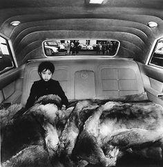 kid fur car