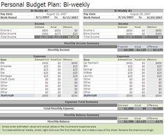 bi weekly budget simple budget template household budget template monthly budget template budget