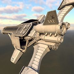 spaceship space 3d 3ds - Spaceship HD by Pekdemir