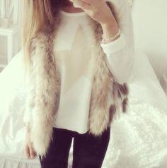 fur vest. but furreal