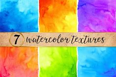 bright watercolor backgrounds #watercoloreffects #watercolorgraphics…