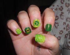 St Patty's nails for a friend!
