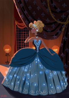 Cinderella♡ from disney! Cinderella Disney, Disney Pixar, Disney Princess Art, Disney And Dreamworks, Disney Animation, Disney Magic, Disney Movies, Walt Disney, Disney Characters