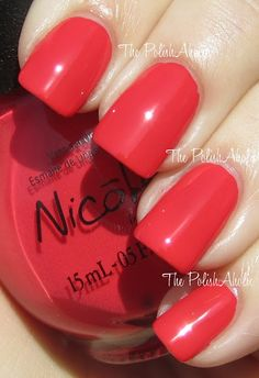 This red is really different, I love it! 'Strike a Post' - Nicole by OPI Kardashian Kolors CVS Exclusives for Spring 2012 $7.99