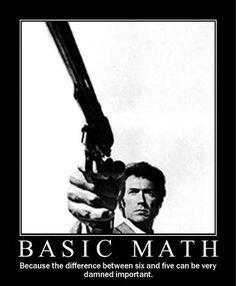 Clint Eastwood as Dirty Harry Funny Motivational Pictures, Clint Eastwood Quotes, Feels Meme, Demotivational Posters, Military Humor, Military Wife, Basic Math, Simple Math, Movie Lines
