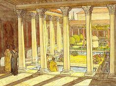 Atrium and Peristyle ~ Jean-Claude Golvin