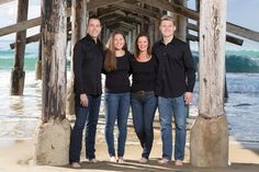 Event Photographer, Family Photographer, Newport Beach Pier, Orange County, Family Portraits, Winter Jackets, Photography, Commercial, Family Posing