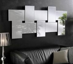 Unique Ideas Can Change Your Life: Wall Mirror Vintage Products wall mirror above couch gray.Antique Wall Mirror Hallways round wall mirror and shelf.Wall Mirror Above Couch Gray. Wall Mirrors Ikea, Living Room Mirrors, Round Wall Mirror, Living Room Decor, Mirror 3, Mirror Collage, Mirror Bedroom, Mirror Panels, Mirror Ideas