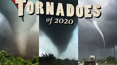 TORNADOES OF 2020 - Is it over yet? Personalidad Enfp, World Weather, Tornado Alley, Severe Storms, Tornadoes, Cosmos, Earth, Photo And Video, Technology
