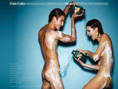 The Tom Ford Neroli Portofino Campaign is Wet and Wild #marketing trendhunter.com
