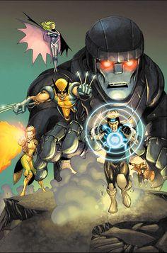 X-MEN #179//Salvador Larroca/L/ Comic Art Community GALLERY OF COMIC ART