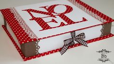 scrapbooking tutorial for a box ♥