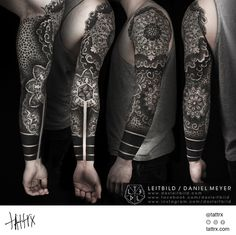 Submission by leitbild LEITBILD / Daniel Meyer - Healed Mandala Sleeve tattrx.com/artists/daniel-meyer-leitbild