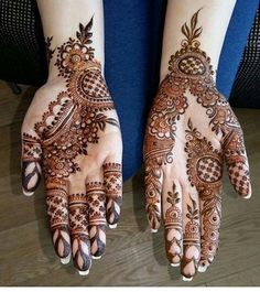 Beautiful Arabic Mehndi Design 2018