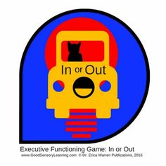 Executive Functioning Game - In or Out - available as a printable digital download - is a fabulously fun comparison game for everyone, but it can also serve as a cognitive remedial tool that strengthens executive functioning skills: working memory, management of distractions, attention to detail, stamina, response inhibition, as well as sustaining attention and mental shifting. #executivefunctioning #executivefunctioninggame Time Management For Students, Memory Management, Working Memory, Reading Specialist, Emotional Regulation, Executive Functioning, Positive Behavior, Help Teaching, Learning Disabilities