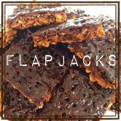 Flapjacks delicious cookie with oat meal.