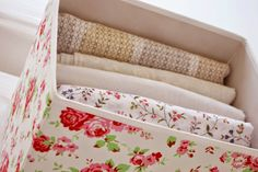 Iby Lippold Haushaltstipps : Geordnete Bettwäsche! Ab in die Box - Iby Lippold Household Tips: Organize Sheets in a Box