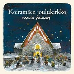 Koiramäen joulukirkko Cute Characters, Art Music, Finland, Literature, Workshop, Christmas Ornaments, Retro, Holiday Decor, Children