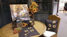 Beautiful Sunflower Decor
