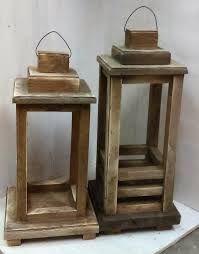 Image result for antique wood lanterns