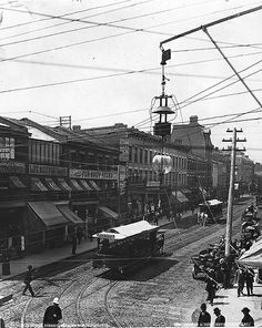 """mostly-history: """"""""Looking north along Yonge Street (Toronto, c. Toronto City, Toronto Canada, Toronto Street, Old Pictures, Old Photos, Vintage Photos, Vintage Photographs, Nostalgia, Canadian Things"""